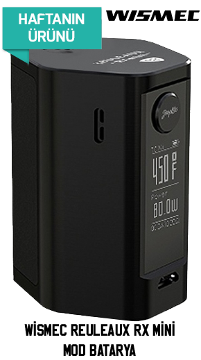 Wismec Reuleaux RX Mini Mod Batarya