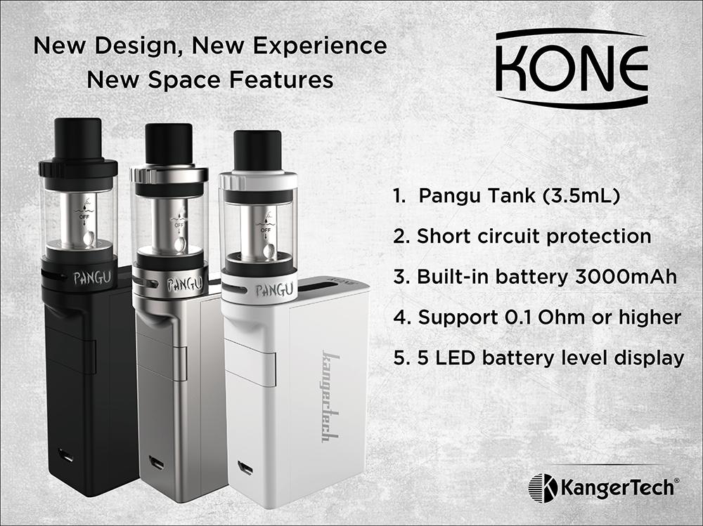 Kangertech KONE Starter kit Elektronik Sigara