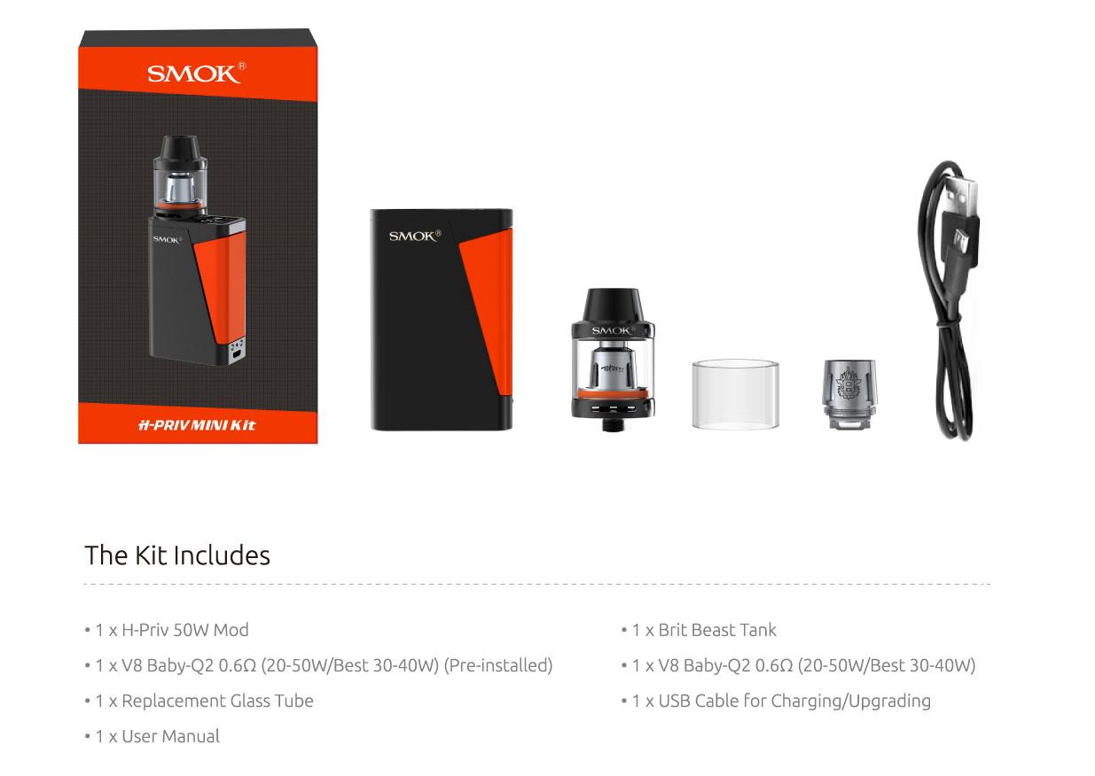 Smok H-Priv Mini 50W Elektronik Sigara